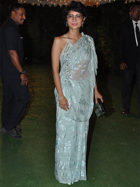 Kiran Rao at Trishya Screwvala's wedding