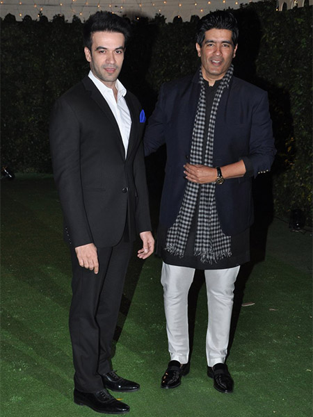 Manish Malhotra at Trishya Screwvala's wedding