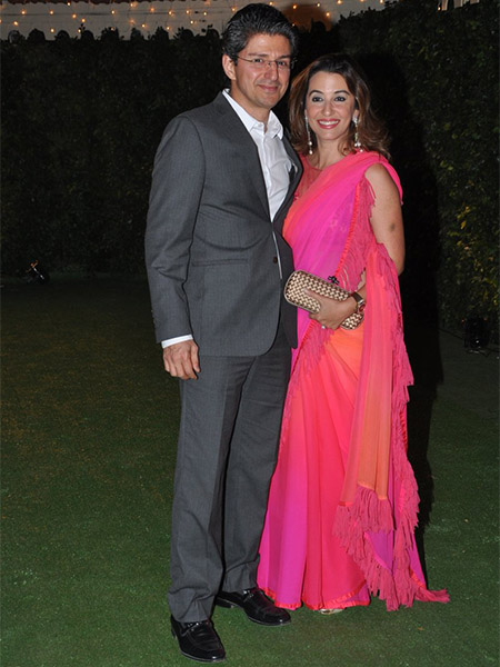 Perizaad Zorabian at Trishya Screwvala's wedding