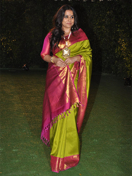 Vidya Balan at Trishya Screwvala's wedding