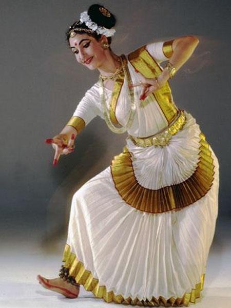 Mohiniattam Kerala saree draping styles