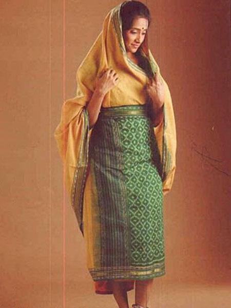 surguja_saree draping styles