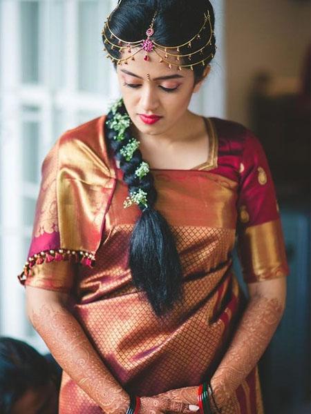 coorgi saree draping style