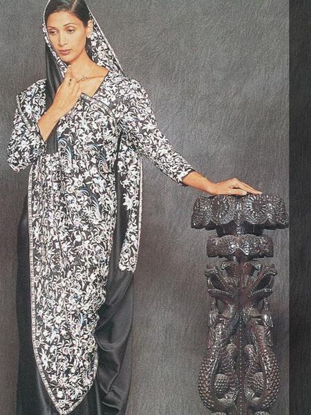 Parsi saree draping styles