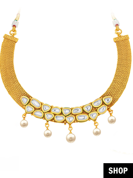 Matinee necklace