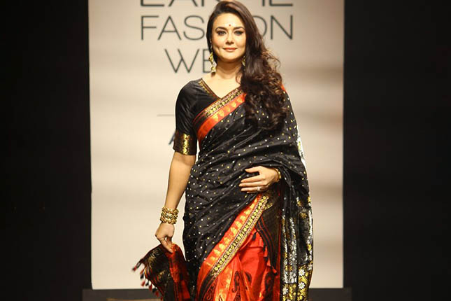 Preity Zinta walks the ramp