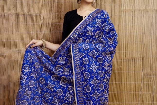 Dupatta designs for salwar suits