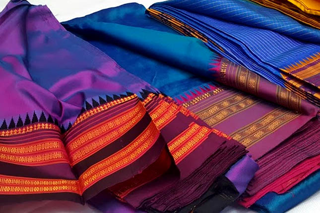 narayanpet sarees colours
