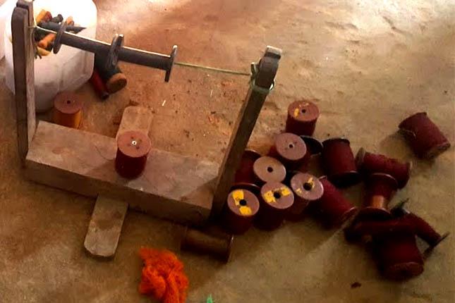 narayanpet sarees yarn