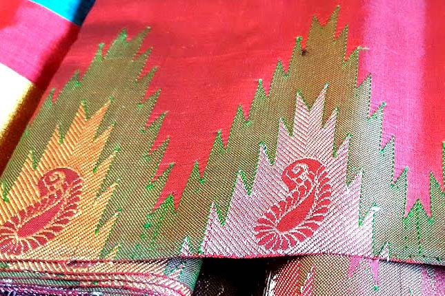 gadwal sarees features