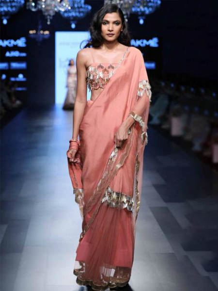 7 Saree Trends From Lakme Fashion Week Summer Resort 2017 The Ethnic Soul