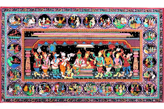 Pattachitra colours