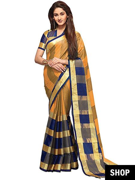 designer saree look alikes 4