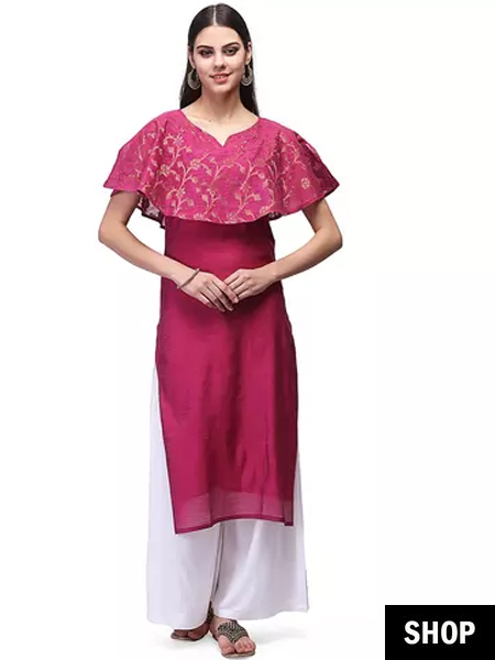 Ethnic fusion outfits to break out of the salwar kurta