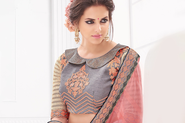Saree blouse designs for summer weddings