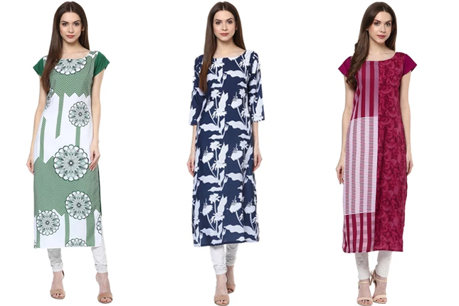 Kurtis under Rs. 599