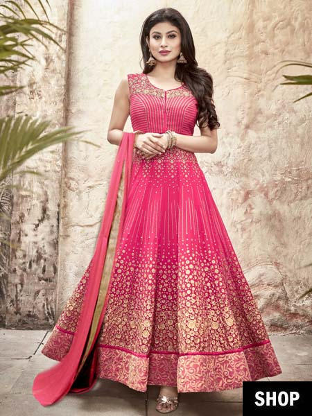 2 anarkali for apple shaped women
