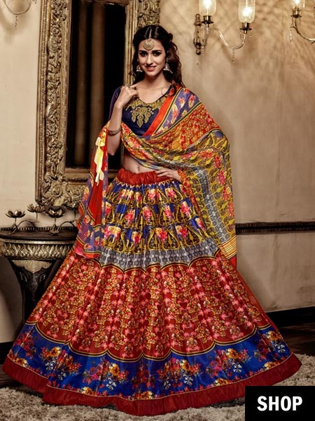 Lehenga for the stylish bride