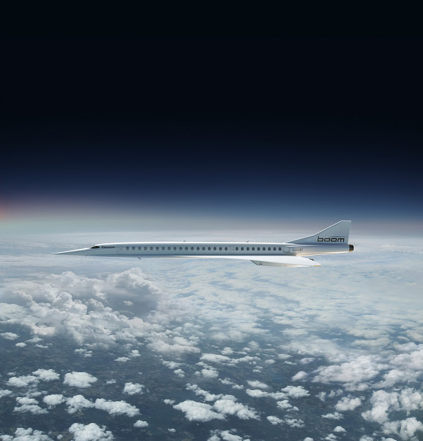 London to New York in 3.45 Hours with New Supersonic Service