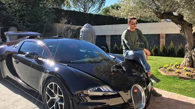 Cristiano Ronaldo Likes to Show Off His Cars…And We Can't Help But Love It