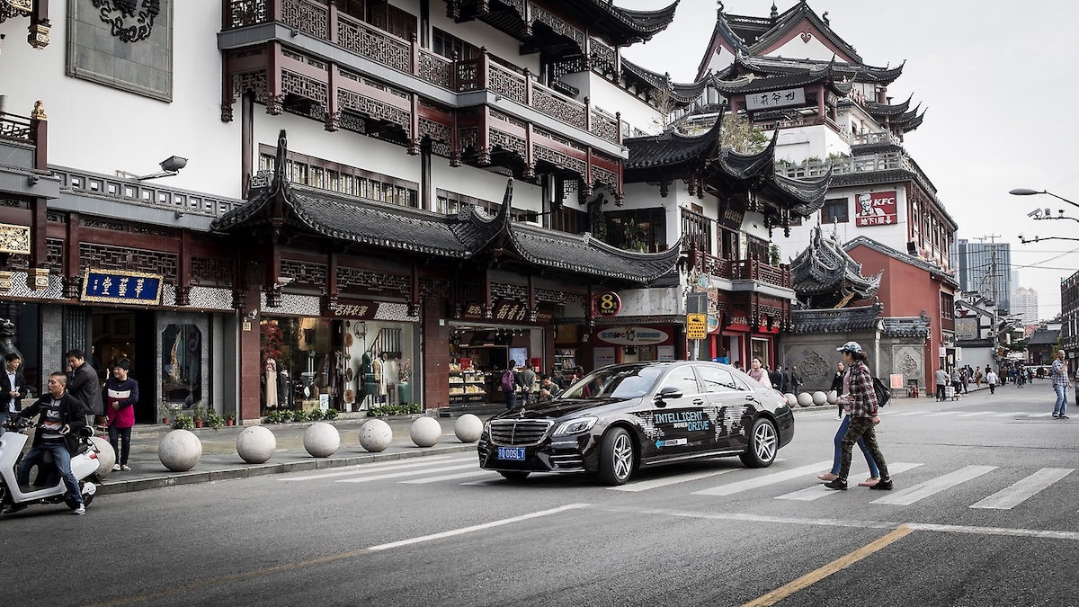 Daimler Gets Green Light for Autonomous Car Testing in China