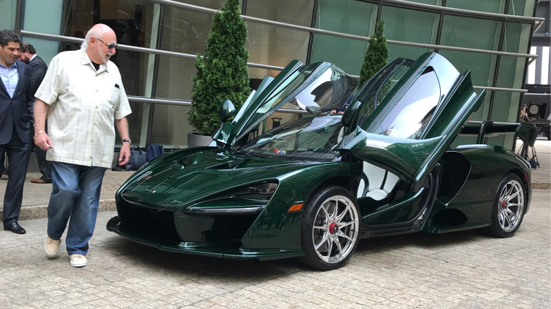 World's First McLaren Senna Delivered. It Matches the Owner's Shoes!