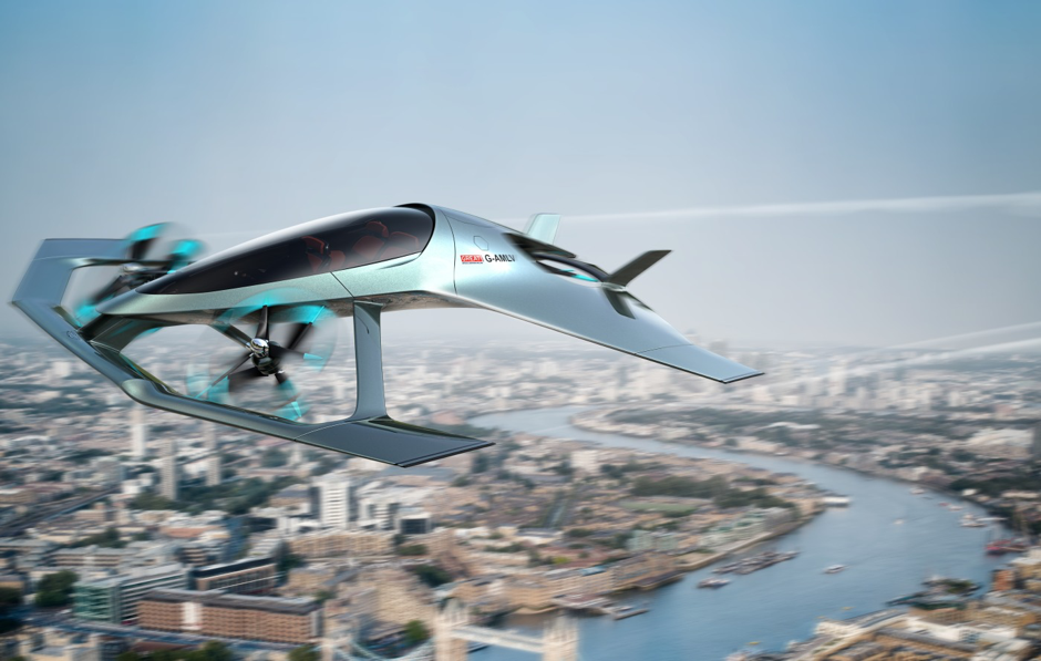 Aston Martin Unveils Its Very Own Flying Sports Car and Beauty Gets a New Dimension