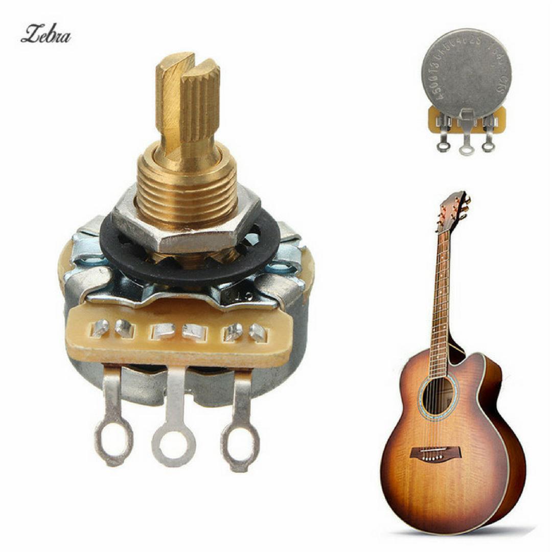 Как выбрать потенциометр для бас гитары