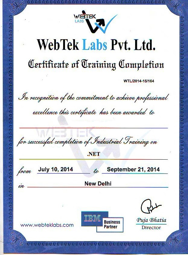 Project completion certificate format for mca gallery certificate project completion certificate format for mca images certificate certificate format for mca training gallery certificate design yelopaper Image collections