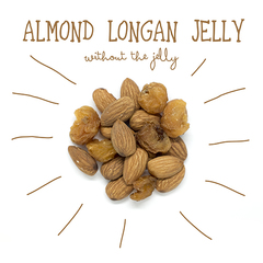 Almond longan jelly without the jelly c14857