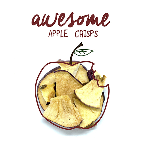Awesome apple crisps 250g a18ee3