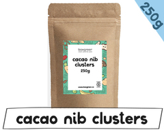Cacao nib clusters 250g