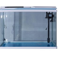 Five Star V series White fish tank - Front View