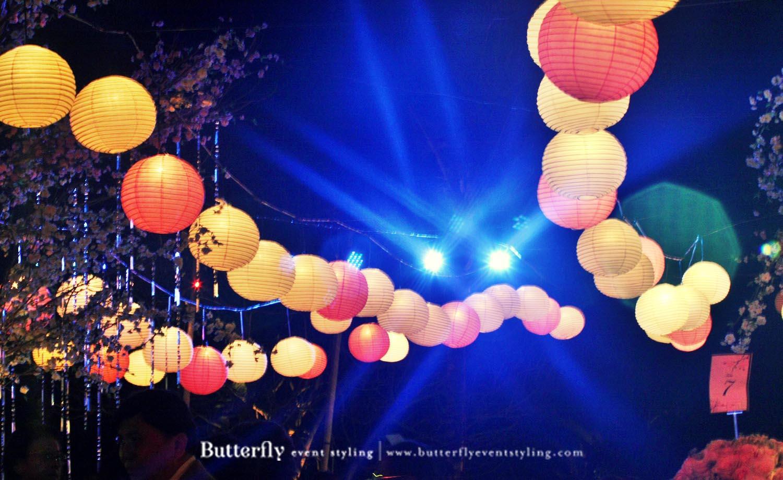 Twinkle Twinkle Little Lights Butterfly Event Styling