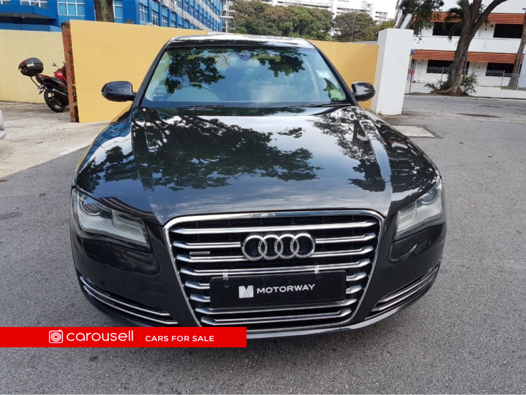 Buy Used Audi AL A TFSI Quattro Car In Singapore - Used audi a8l for sale