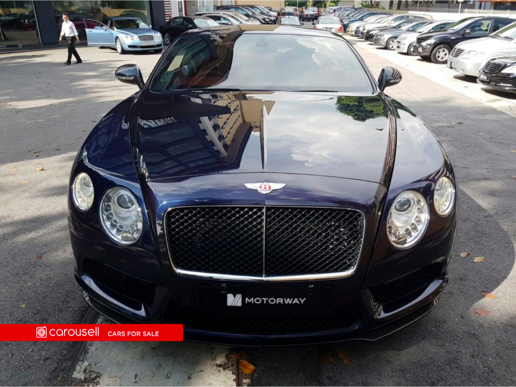 Buy Used Bentley Continental GT 4.0A V8 Car in Singapore@$499,000 ...