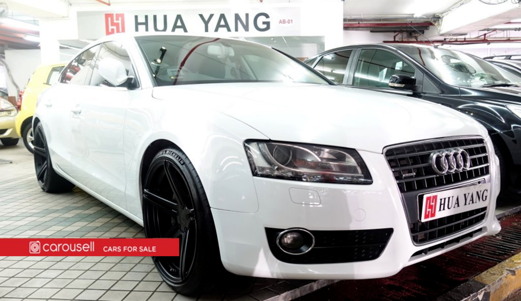 buy used audi a5 sportback 2.0a tfsi quattro s-line car in singapore