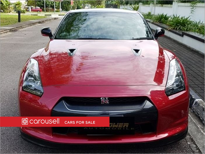 Buy Used Nissan GTR 3.8A Black Edition Car in Singapore@$218,800 ...
