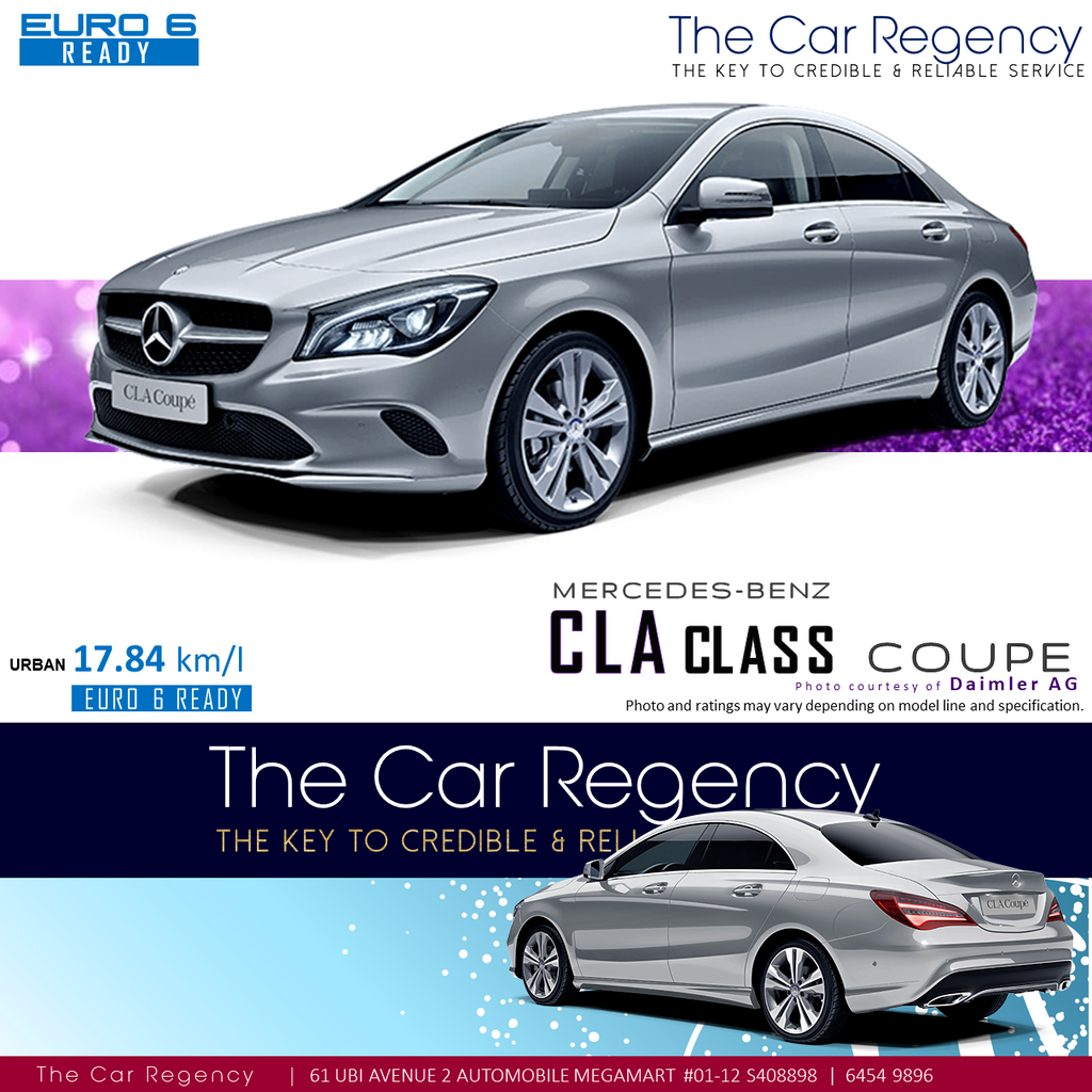 Buy Used Mercedes Benz Cla 180 Coupe New Car In Singapore