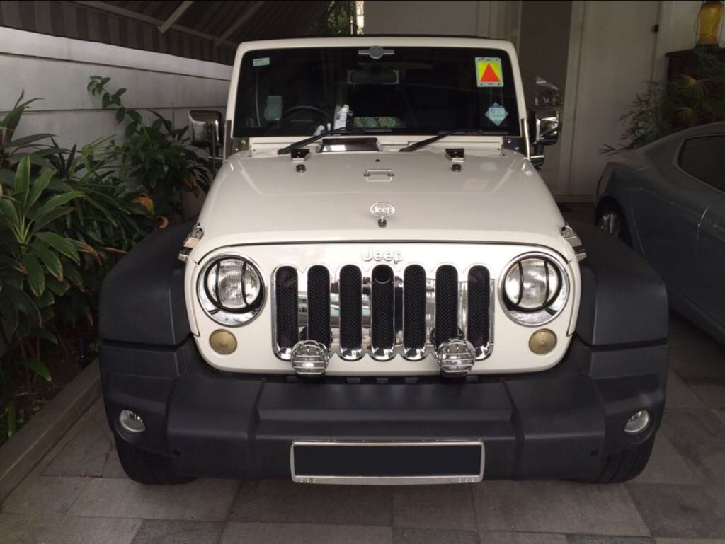 Second hand jeep wrangler for sale