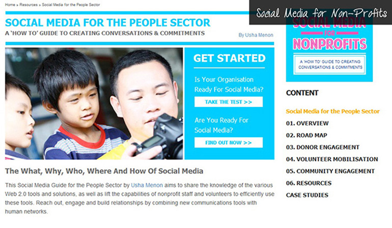 Social Media for Non-Profits Usha Menon