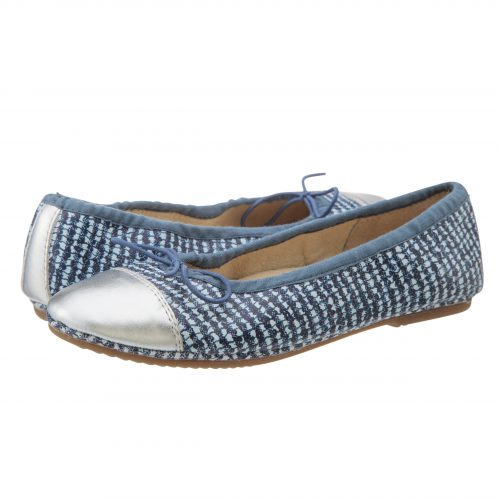 Old Soles Electric Flat Blue Biancoa Silver