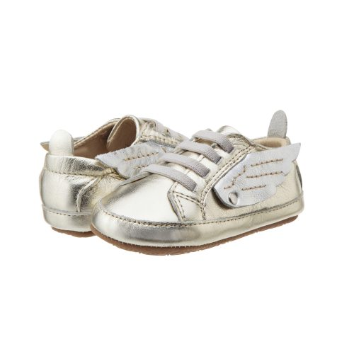 Old Soles Bambini Wings Gold Silver