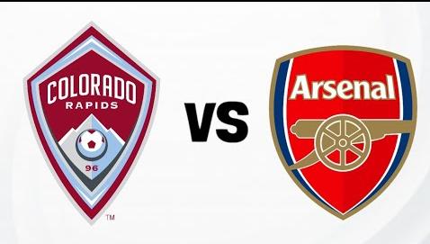 Kết quả hình ảnh cho Colorado Rapids vs Arsenal