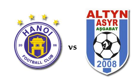 Hà Nội FC vs ALTYN ASYR