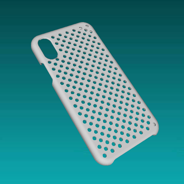 iPhone X Dot Case