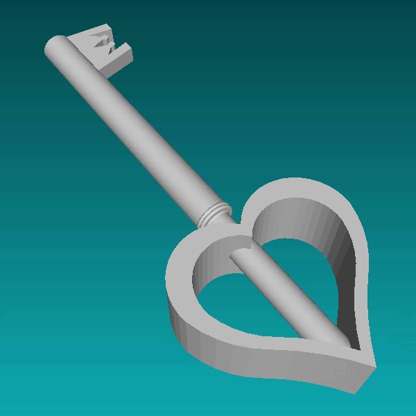 Valentines Keyblade