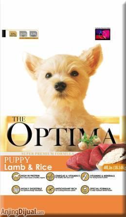 Dog Cat Food Optima Lamb And Rice Di Jakarta