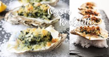 十分鐘簡易焗蠔!洛克斐勒式焗烤生蠔 Oysters Rockefeller毫無難度~