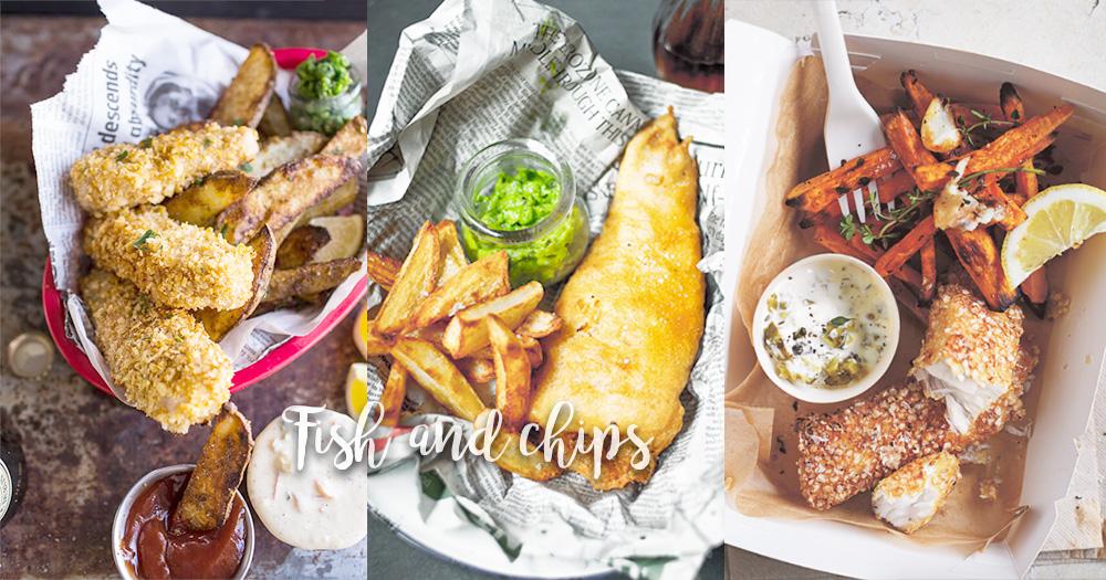 掌握炸魚薯條的秘技!在家也能輕鬆製作英倫風菜式~還有健康的版本喔!